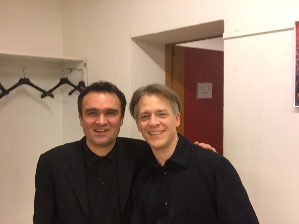 Selfy with Jörg Widmann