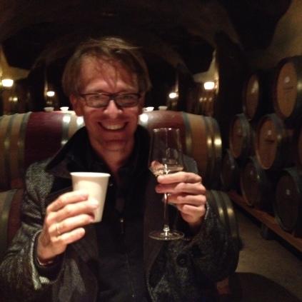 Wine tasting at Trisaetum